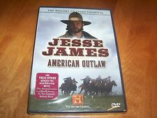 JESSE JAMES AMERICAN OUTLAW Old West Gunfights Outlaws History Channel DVD NEW