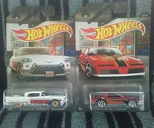 2016 Hot Wheels Garage Pontiac Firebird & Cadillac Eldorado 1:64 Cars