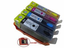 4 empty Refillable  HP 364XL Ink Cartridge for C6324 C6380 D5400 D5460