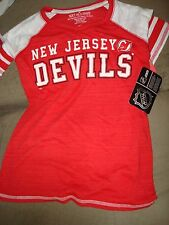 NHL CHILDS NEW JERSEY DEVILS MEDIUM RED AND WHITE