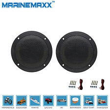 "2 Way 4 Inch 4""(160W) Coax Waterproof  Marine Speaker Boat SPA UTV ATV Speaker"