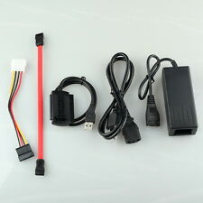USB 2.0 to IDE SATA 2.5 3.5 HD HDD hard driver disk Adapter Converter Cable New