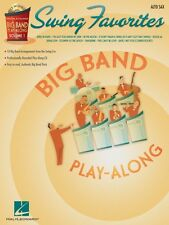 Swing Favorites Alto Sax Big Band Play-Along Book and CD NEW 007011313