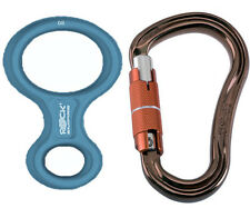 Rock Empire BELAY DEVICE SET 8 aqua+magnum3T
