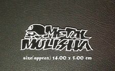 New Metal Mulisha Motocross ATV Racing Sew Iron on Patch Embroidered Motocross