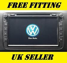 "VW SAT NAV DVD Player 8"" Android GPS Bluetooth Stereo Golf R32 Polo GT Caravelle"
