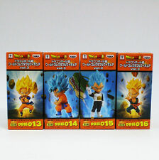 Banpresto Dragon Ball Z Super World Collectable Figure WCF Vol.3 4Set Goku Gohan