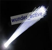 """G4 LED """"Lichtfaser Lichtleiter"""" Optical Fiber Licht Leuchte Lampe weiss DC 12V"""
