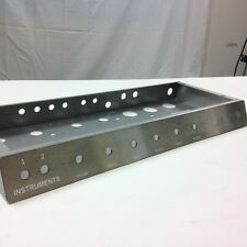 Princeton Reverb-style Amp Chassis with stainless faceplates