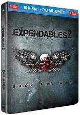 The Expendables 2  (Blu-ray  Steelbook Ed. + Digital Copy)   NEW