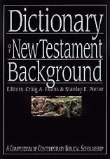 Dictionary of New Testament Background (The IVP Bible Dictionary Series) by . 08