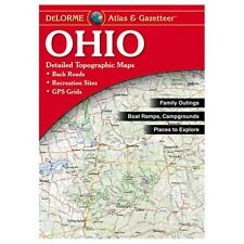 NEW Delorme Ohio OH Atlas and Gazetteer Topo Road Map Topographic Maps