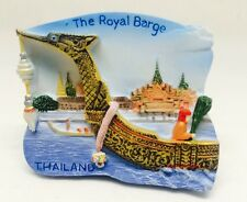 Thailand's Royal Barge Procession ,Thailand 3d Resin TOY Fridge Magnet