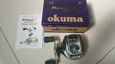 OKUMA NEMESIS NS-200W Casting Reel with Box Very Clean Very Smooth cb