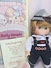 Dolly Dingle # Bette Ball HANS DUMPLING German Lederhosen Musical Porcelain Doll