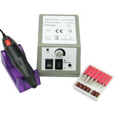 Profession  Electric Drill File Nail Art Pen Machine Manicure Pedicure Kit Set