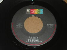 45 RECORD,  THE RATTLES.  THE WITCH  /  GERALDINE.  NM-.