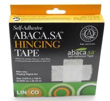 "Lineco Abaca Self-Adhesive Hinging Tape 7/8""x150' Roll"