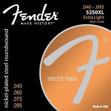 Genuine Fender® Super 5250XL Extra Light Short Scale Bass Strings 073-5250-402