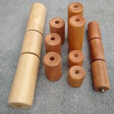 Qualcast/ Atco/ Ransome/Webb/JP Maxees/Honda Lawn Mower Wooden Rollers