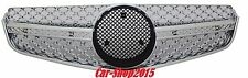 Front Grill Grille E63 AMG Style 10-13 For Mercedes C207 W207 All Chrome