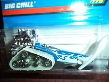HOT WHEELS BIG CHILL COLLECTOR #779 NEW ON CARD BW WHEEL 1:64 THAILAND BASE