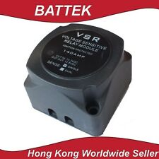 Dual Battery Isolator 12V 140A Single Sense Caravan RV 4WD