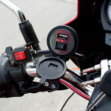 New Motorcycle USB Charger for Phones | With Handlebar Mount & ON / OFF Switch