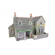 PO254 00/H0 Village Shop & Caf' Metcalfe Model Kit Building