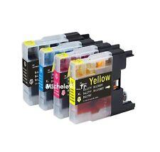 Neuf Pack 4+4 Cartouches d'encre Compatibles LC 1280 XL pour Brother DCP J925DW