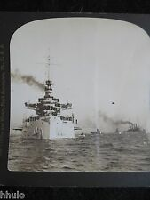 STA232 Battleship Virginia Bristling navire vintage Photo 1900 STEREO stereoview
