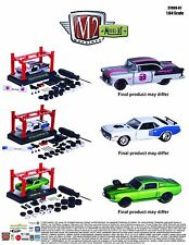 M2 Machines 1:64 Model Kits AUTO-LIFT WAVE Release 7 Diecast Car Set of 3 37000