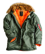 ALPHA INDUSTRIES Jacke »N3B VF 59« sage green - XL 103141/01