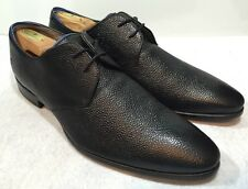 Oliver Sweeney London Morsang Black Pebbles Leather Lace-up Oxfords 11 $250