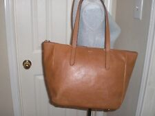 Fossil Women's Sydney Shopper Leather Top-Handle Tote