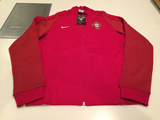 Team Portugal 2016 Federation Soccer Jersey Men's Red Track Jacket Euro XXL
