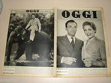 OGGI=1954/24=GREGORY PECK=VICOVARO=RENATO CENNI=PEPPINO DE FILIPPO=DE LISO=