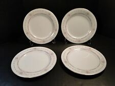 "FOUR Noritake Benton Dinner Plates 6204 10 1/2"" 4 Plates EXCELLENT!"