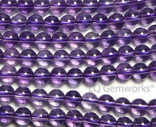"15"" Strand AAA AMETHYST 4mm Round Beads"