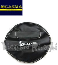 3419 - COPRIRUOTA COLOR NERO 3 - 50 - 10 VESPA 180 200 RALLY SS SUPER SPORT