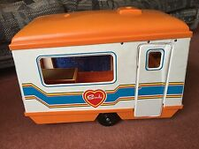 Vintage Rare Sindy's Caravan Orange Roof....original Box Pedigree Toys 1980's