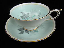 PARAGON CUP AND SAUCER - WILD ROSES - DOUBLE WARRANT MARK A703