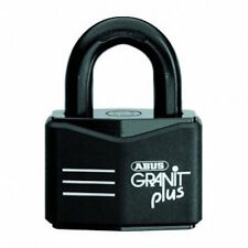 ABUS GRANIT 37RK70 High Security Shipping Container Padlock-X Plus -Free Post.