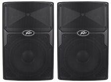 """(2) Peavey PVx12 12"""" 1600-Watt Passive Pro PA Speakers Light-Weight PVX-12"""