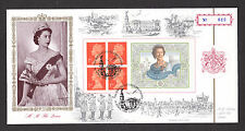 1996 70TH Cumpleaños QE2 folleto panel en Bradbury OFICIAL FDC Sp/Hs