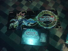 Yu-Gi-Oh! Legendary Collection 3 Yugi's World Orichalcos play mat and box 1996