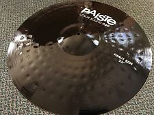 "Paiste 900 Series Color Sound Black Heavy Ride 22"" Cymbal 2002 Alloy"