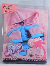 Beverly Hills Puppy Club Princess Fashions Pink & Blue Hoodie w/ Purse 2008