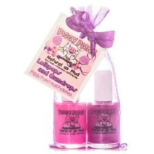 New Piggy Paint 2 Nail Polish Natural  Kid Non Toxic Lollipops and Gumdrops Set