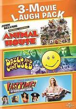 Animal House/Dazed and Confused/Fast Times at Ridgemont High (DVD, 2014, 2-Disc…
